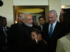 In pictures When PM Modi met 26 11 survivor Baby Moshe in Jerusalem