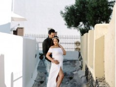 In Pics: Pregnant Esha Deol flaunts baby bump 'IN STYLE' posed with hubby Bharat Takhtani