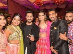 Bareilly ki Barfi promotion Ayushman Khurana Kriti Sanon get crashed wedding