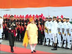 In Pics: PM Narendra Modi on 71st Independence Day from the ramparts of Red Fort