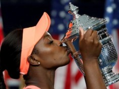 In Pics| US Open women's title 2017: Sloane Stephens defeats Madison Keys to win her first grand slam title