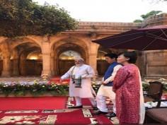 Japanese PM Shinzo Abe in India From Sabarmati Ashram to Sidi Saiyyid Ni Jaali mosque