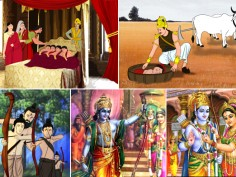 Ramayana through illustrations Baal Kaand