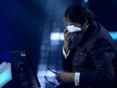 Kaun Banega Crorepati 9 Amitabh Bachchan gets emotional