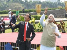Modi in Indonesia Pictures show the bond two neighbours share