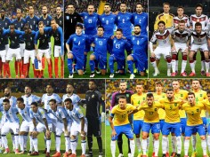 France win FIFA World Cup 2018 Teams with most title wins