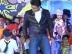 Abhishek Bachchan walks the ramp for Ritu Beri