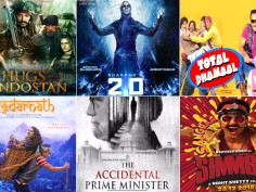 Upcoming Bollywood releases: 7 movies that will sway the Box Office collection in November and December Thugs Of Hindostan, 2.0, Total Dhamaal, Kedarnath, Zero, Simmba, The accidental prime minister