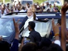 Modi in Gujarat: PM addresses BJP workers in Ahmedabad, seeks mother's blessings in Gandhinagar