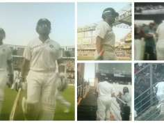 Master Blaster on Day 1 of 'Farewell Test'