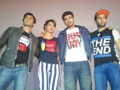 Team Gunday surprise fans at a cinema hall