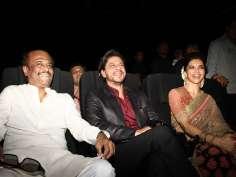 Rajinikanth, SRK, Deepika launch Kochadaiiyaan's music