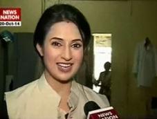 Divyanka Tripathy turns 'one-day CM'