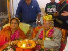 Just married! ND Tiwari weds Ujjwala Sharma