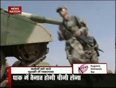 Chinese Army spotted along LoC in Pak-occupied Kashmir