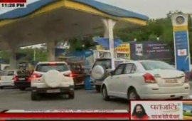 Petrol price hiked by 1.06 a litre, diesel 2.94 paise