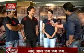 Serial Aur Cinema: Shraddha, Tiger happy with Baaghi success