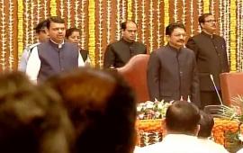 Maharashtra Cabinet Expansion: New ministers take oath in Mumbai