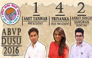 Top headlines at 1pm, Sept 10: DUSU polls results: ABVP wins Pres, VP and Secy posts, NSUI wins Joint Secy