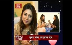 Serial Aur Cinema: Divyanka Tripathi Dahiya celebrates her birthday on Serial Aur Cinema sets