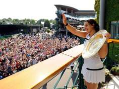 Marion Bartoli wins Wimbledon title
