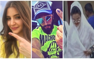 BMC Polls 2017: Bollywood celebrities come out to vote, Anushka, Ranvir, Rekha spotted at polling stations