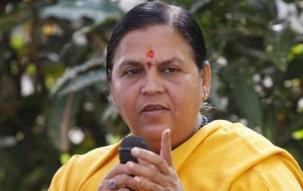 Nation Agenda: Uma Bharti dismisses the Congress demand for her resignation