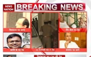CBI raids P Chidambaram, son Karti's homes in Chennai