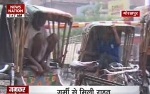 Heavy rains bring respite to Delhi, North India; waterlogging, traffic jams create chaos