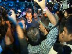 This is how Salman kicked media!