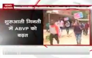 DUSU Elections Results: ABVP leading on all four seats after 7 rounds of counting