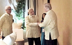 Narendra Modi to hold bilateral talks with Donald Trump today