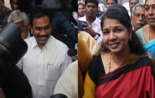 DMK Leaders Welcome A Raja, Kanimozhi After 2G, Chennai Decked up