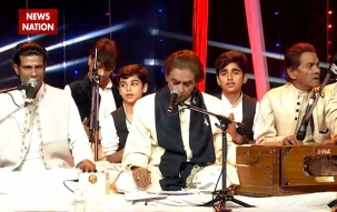 News Year Special: Aslam Sabri sets stage with his Qawwali