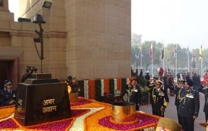 India celebrates 70th Army Day, General Bipin Rawat reviews annual parade