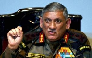 China army base at Doklam not permanent structure says Army Chief Bipin Rawat