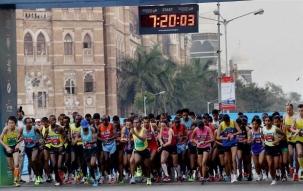 Mumbai Marathon 2018   Bollywood celebrities take part in annual sporting event