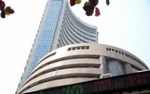 Nifty hits record, crosses 11000, Sensex tops 36000