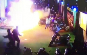 Suspected Molotov cocktail attack outside theatre screening Padmaavat in Belgaum