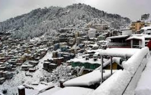 Shimla district's Nawar Valley receives fresh snowfall