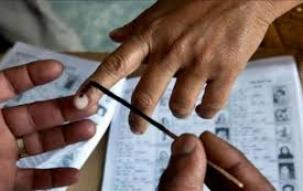 Voter turnout till 1 pm Meghalaya: 27.75 per cent ; Nagaland: 56 per cent