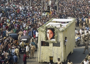 Nation View: Bollywood's Chandni Sridevi consigned to flames in Vile Parle