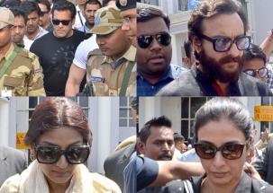 Salman, Saif, Sonali,Tabu arrive in Jodhpur to hear judgement in Blackbuck case