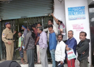 Cash crunch still a problem for people, cashless ATMs see long queues