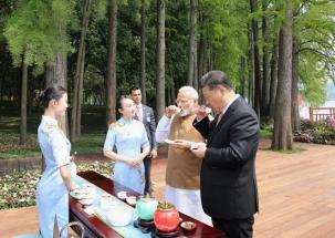 Narendra Modi in China: Modi-Xi stroll by lake; have boat ride in Wuhan