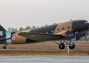 Vintage Dakota aircraft rechristened as Parashuram, joins IAF again