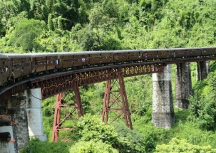 NN Special: World's 'tallest' railway bridge constructed at Noney in Manipur