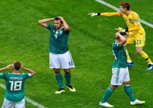 GOAL: Defending champions Germany crash out of FIFA World Cup 2018