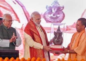 Yogi Adityanath addresses rally in Uttar Pradesh's Mirzapur