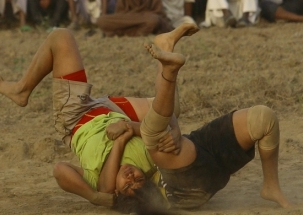 Meet India's 'Dangal Girls' who take the rural mud wrestling to the big city of Delhi